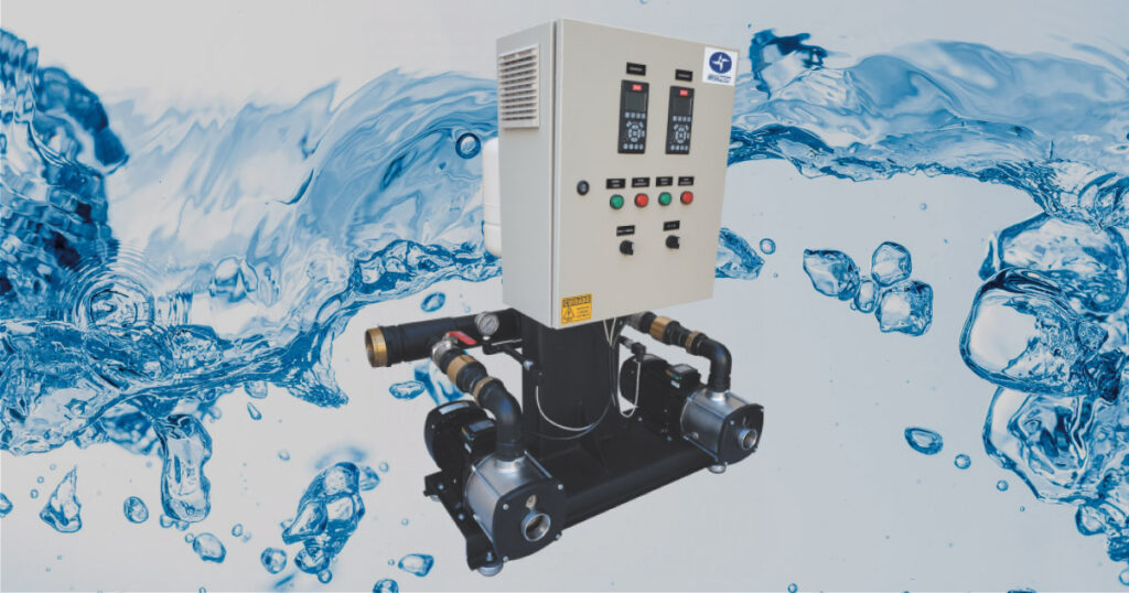 Linha megapress de pressurizadores de agua