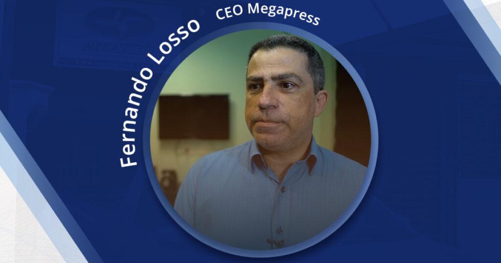 Megapress no programa mundo empresarial da tv band